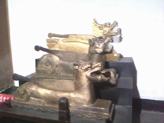 Anhui, China: 龙头铡,虎头铡,狗头铡