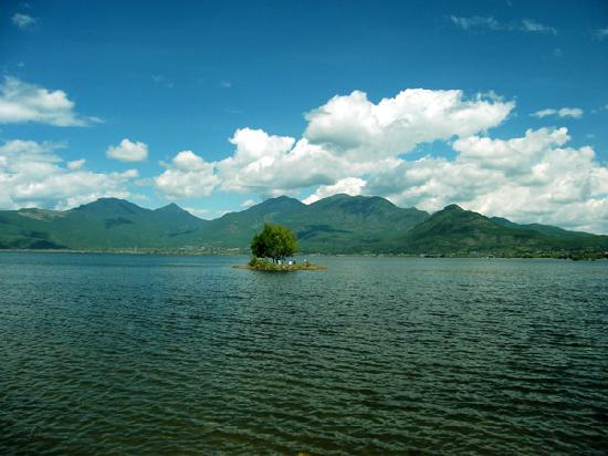 Lijiang, China: 拉市海湿地公园