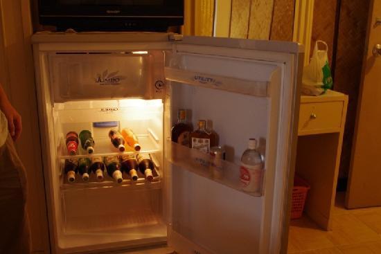Rux-Thai Guest House: 房间内带的冰箱