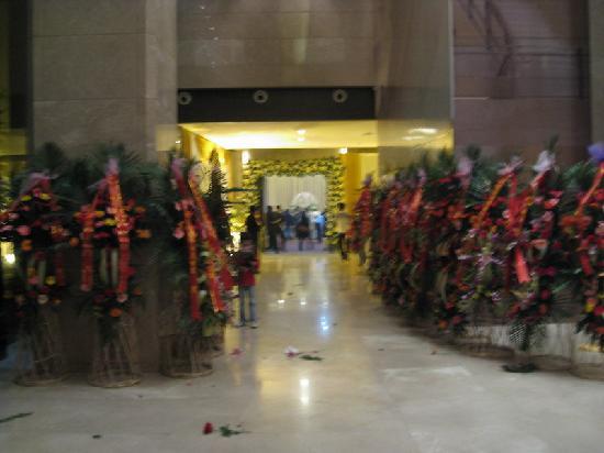 Yangzhou Convention Center: 酒店大厅,婚宴入口