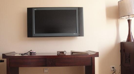 Conifer Lishui Yang'guang Hotel: 客房,比老式酒店来说电视已经是液晶的了