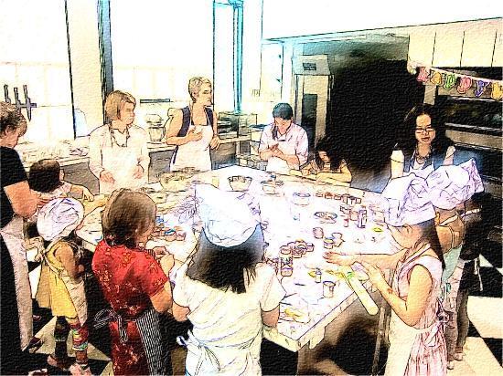 The Fig Tree Baking School: 孩子生日派对