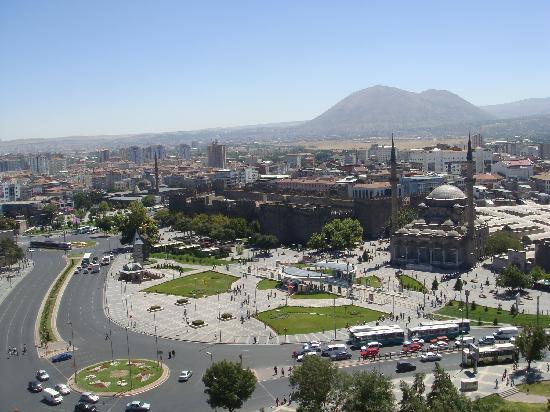 Hilton Kayseri: 从房间看市区