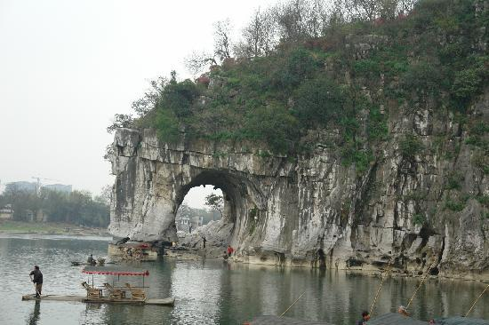 Liu Sanjie Landscape Garden of Guilin: 象山