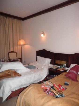 Tianmen Mountain Villa: 床