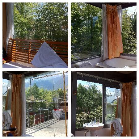 Fengyue Landscape Inn : 玻璃房