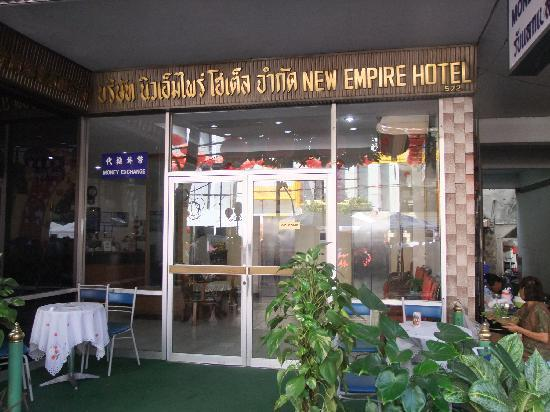 New Empire Hotel: Front view