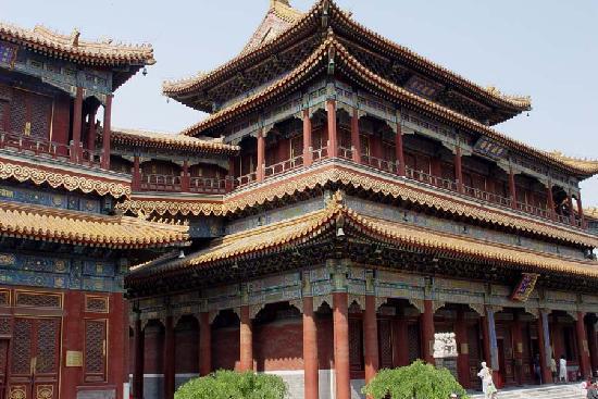 Le temple des Lamas (Temple de Yonghe )