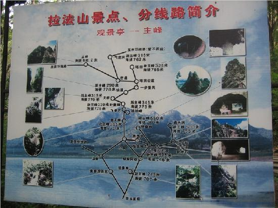 Lafa Moutain National Park: 路线图