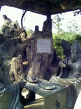 Chibi, China: 煮酒论英雄!
