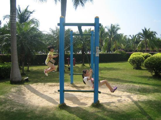 Landscape Beach Hotel Sanya: 酒店的儿童乐园