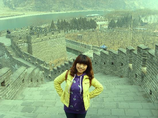Jiumenkou Great Wall: 我不上相耶,还是看长城吧!!