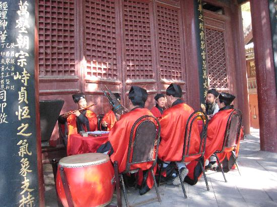 Beiyue Temple of Hengshan Mountain, Shanxi: 鼓乐齐鸣