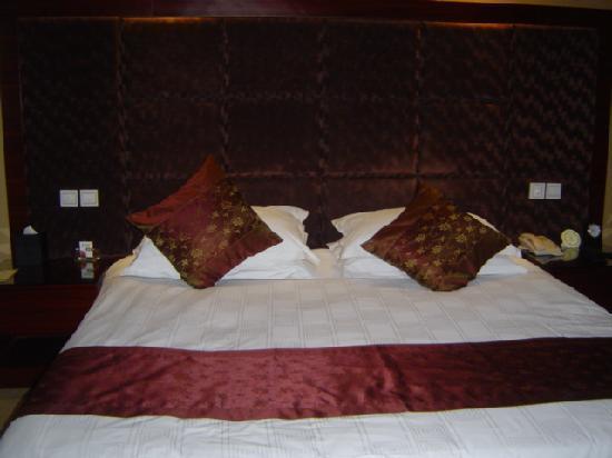 Juntai Hotel : 大size的床