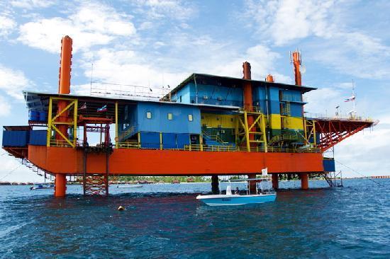 Seaventures Dive Rig 在船上拍的seaventures