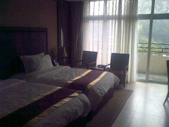 Zilongwan Hot Spring International Hotel: 标间