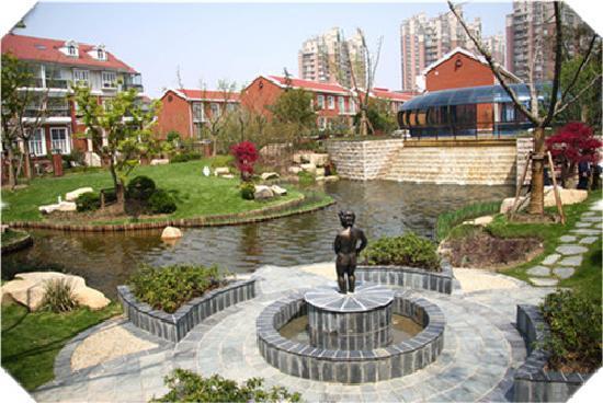 New Phoenix Town Hotel: 上海新凤城迎宾馆庭院景观
