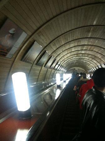 Den Røde Plass: 地铁电梯