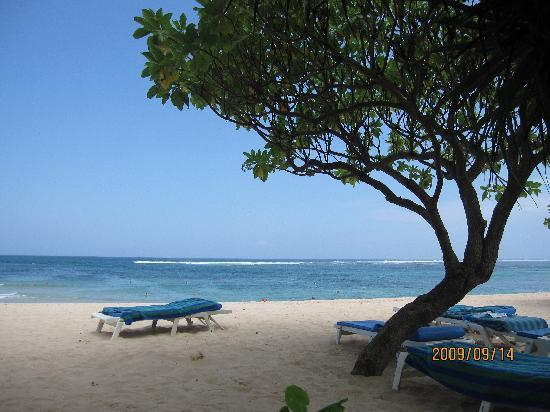 Princess Nusa Dua Resort : 酒店的私家海滩