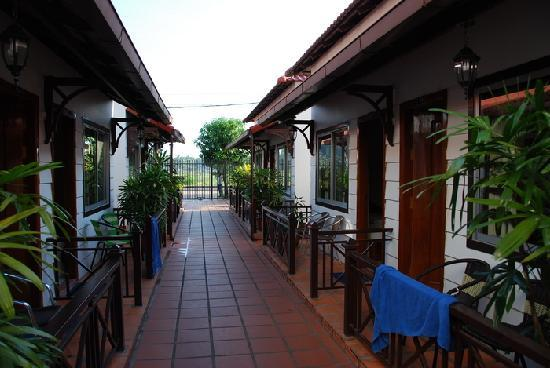 Orchidee Guest House : 新区的客房