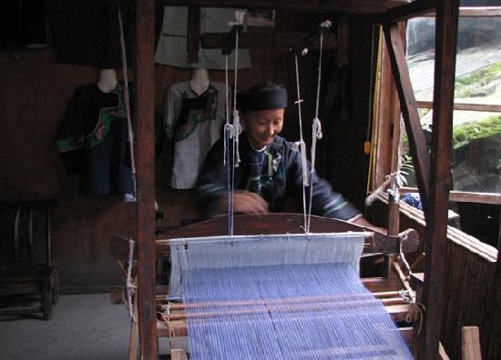 Songtao County, Kina: 苗族人织苗衣