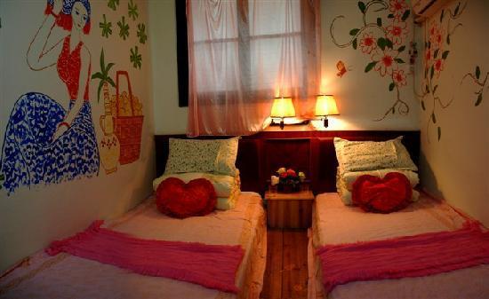 Dongchenglou Inn: 春暖花开,浪漫自由