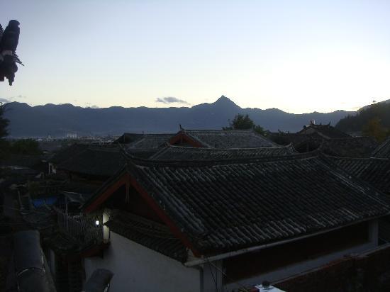 Zifeiyu Hostel: 俯瞰丽江