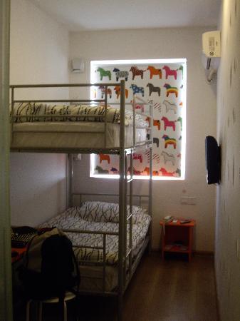 Pod Inn (Shanghai Xujiahui): 上下床