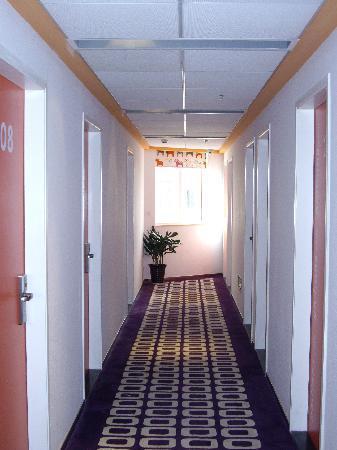 Pod Inn (Shanghai Xujiahui): 走廊