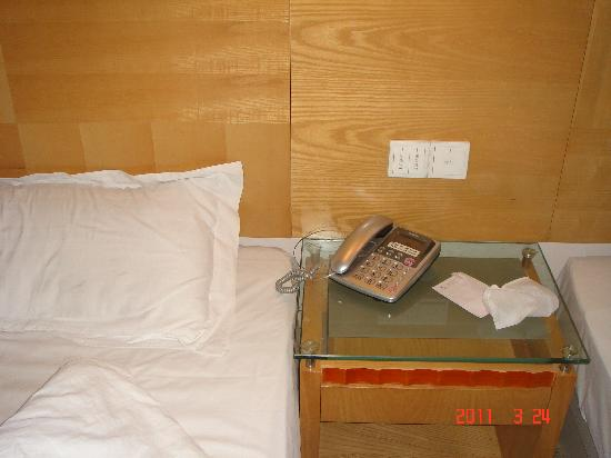 The Great Wall Business Hotel: 房间小