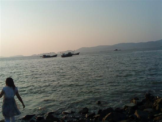 Taizhou, Kina: 一望无际的海