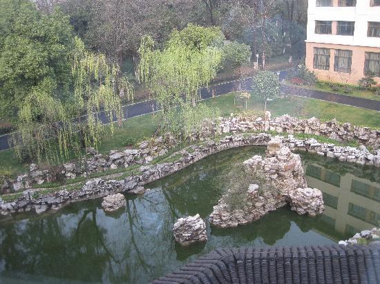 Xikang Hotel: 窗外省委大院