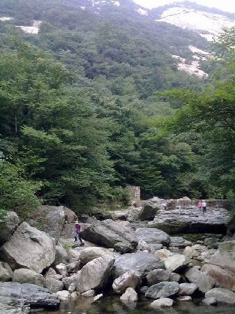 Tiantangzhai National Forest Park: 天堂寨