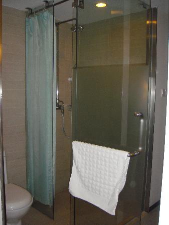 Starway Sunjoy Hotel: 卫生间的门