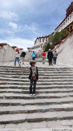 Tibet, China: 登上布达拉宫
