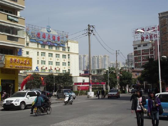 Binhai Hotel: 酒店周边环境