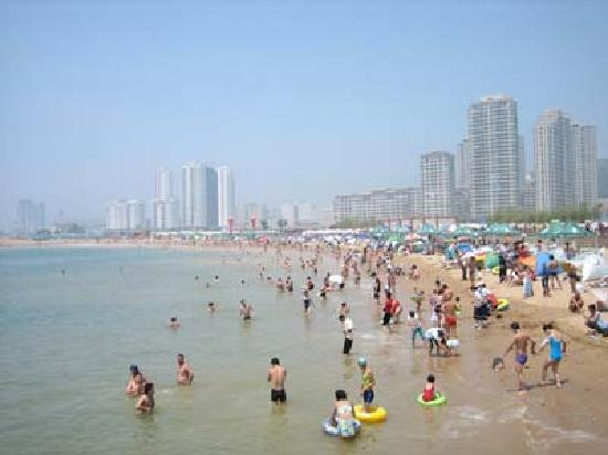 Dalian Bathing Beach: 海滨~