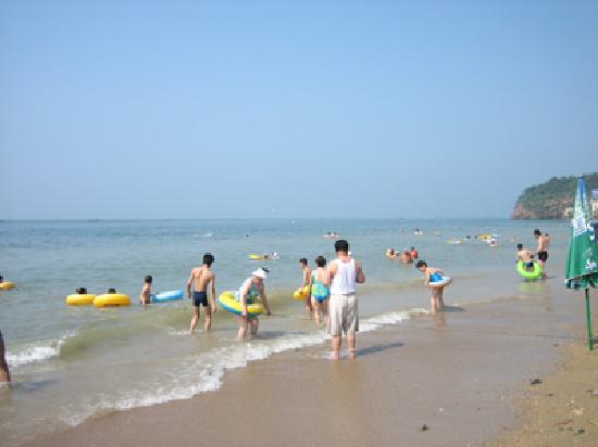 Dalian Bathing Beach: 海滩