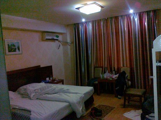 Aishili Hotel Wuhan Zhongshan: 室内2