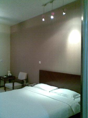 Qingdao Paradise Hotel: 床