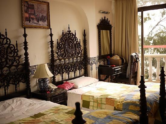 Pousada de Coloane Beach Hotel & Restaurant: 我们的房间内部