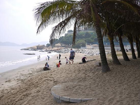 Pousada de Coloane Beach Hotel & Restaurant: 酒店前面的海滩