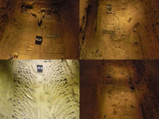 Qian County, China: 阳陵-陪葬坑2