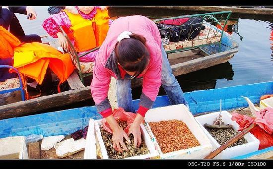 Caohai Nature Reserve: 卖干货的商贩