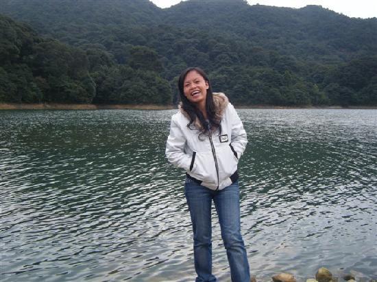 Shimen National Forest Park: 对面是大片的油菜花田,你们看不到哈哈