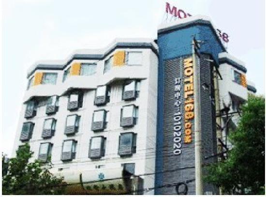 Motel 168 Nanjing Xinjiekou Mingwalang : 酒店外观