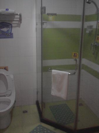 7 Days Inn (Shanghai Songjiang): 浴室