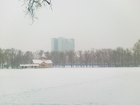Harbin, Çin: 冬天的哈尔滨