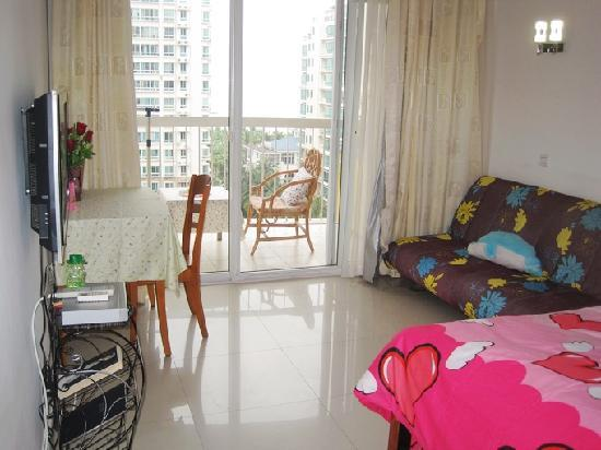Bule Lotus Holiday Apartment: 海景蜜月房