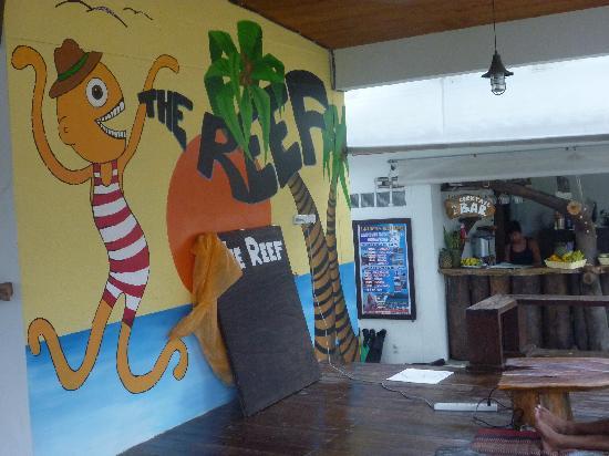 The Reef Hotel: 公共区域可提供免费wifi